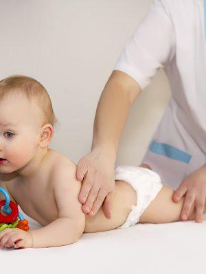 Медицинский массаж для ребенка