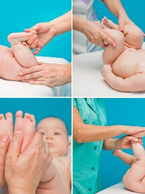 Тонизирующий массаж для детей