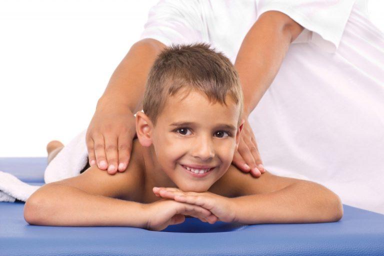 Воротниковый массаж детям