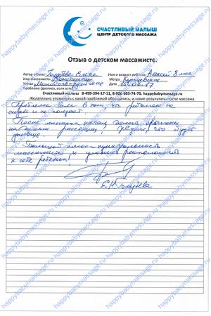 Массаж грудничку Кунцевская