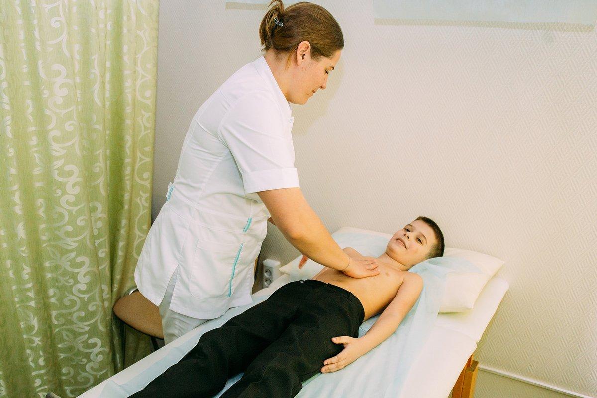 Детский лечебный массаж при бронхиальной астме
