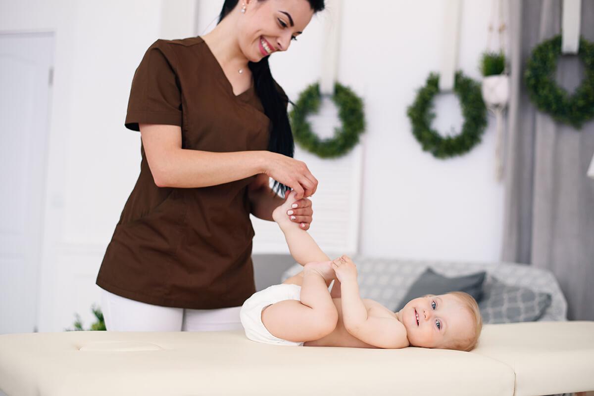 Дифференцированный массаж ребенку